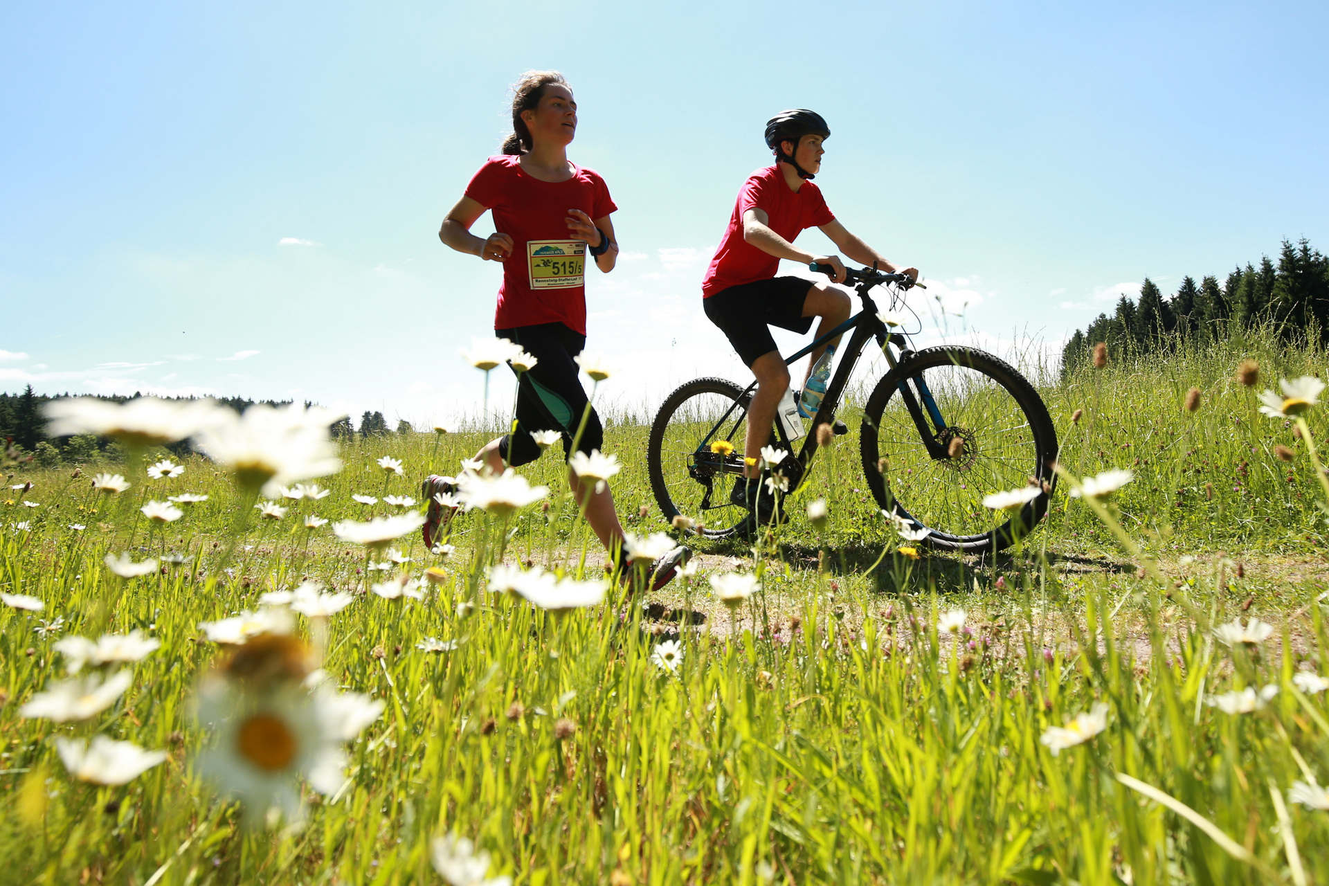 24.06.2017, xkvx, Crosslauf, 19. Rennsteig-Staffellauf, v.l.