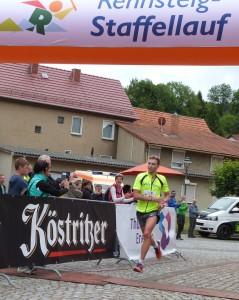 Bild: Marcel Bräutigam ist Schlussläufer der siegreichen Staffel von Günters Männer